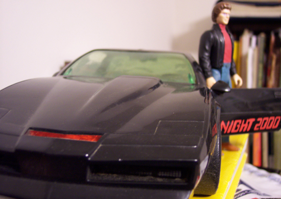 Film by Dress Your Style iMage T-Shirt Knight Rider-Supercar Kitt VOICEBOX